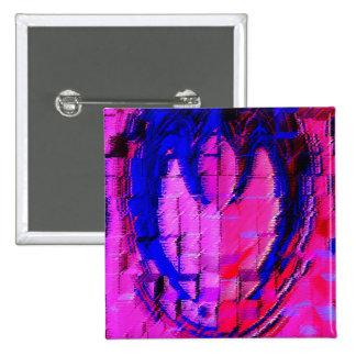 Pink HEART - Street SMART Button
