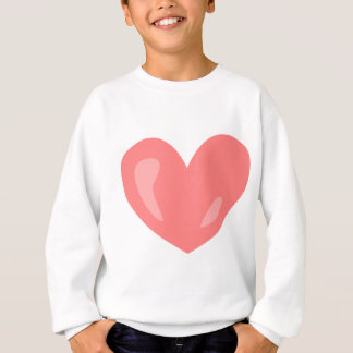 Pink Heart Sweatshirt