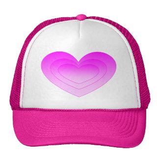 Pink Heart Trucker Hat
