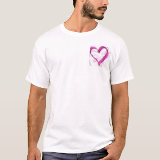 pink hearted T-Shirt