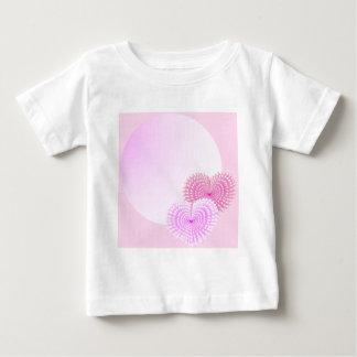 Pink hearts baby T-Shirt