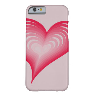 Pink hearts barely there iPhone 6 case