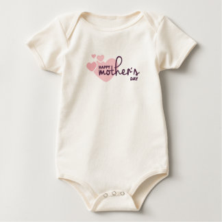 Pink Hearts Happy Mother's Day | Bodysuit