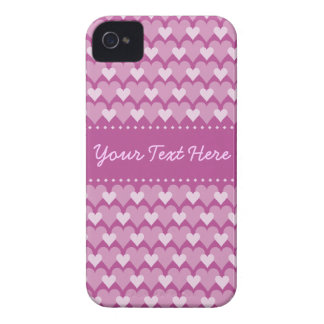 Pink Hearts iPhone 4 Case-Mate