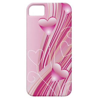 Pink Hearts iPhone 5 Case