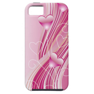 Pink Hearts iPhone 5 Vibe Case