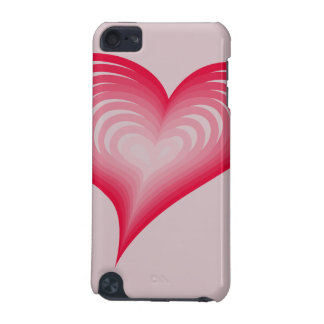 Pink hearts iPod touch 5G case