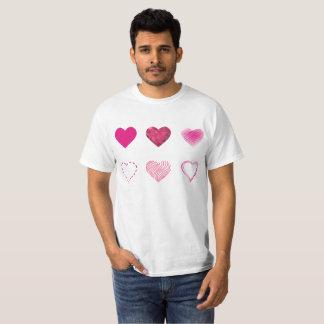pink hearts T-Shirt