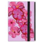 Pink Hibiscus And Honu Turtles Cover For iPad Mini