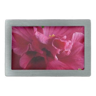 Pink Hibiscus, flourishing alder is gifta Rectangular Belt Buckle