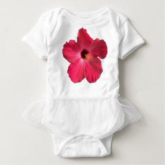 Pink Hibiscus Flower 201711e Baby Bodysuit