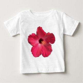 Pink Hibiscus Flower 201711e Baby T-Shirt