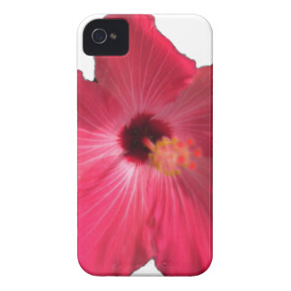Pink Hibiscus Flower 201711e Case-Mate iPhone 4 Case