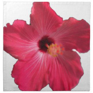 Pink Hibiscus Flower 201711e Napkin