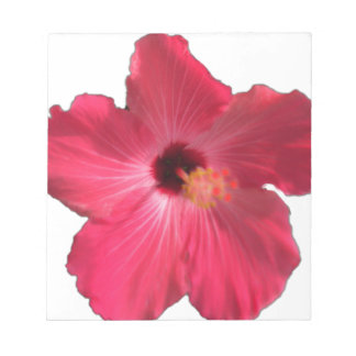 Pink Hibiscus Flower 201711e Notepad