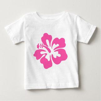 Pink Hibiscus Flower Baby T-Shirt