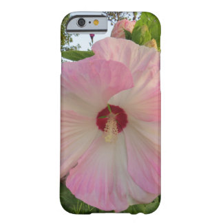 Pink Hibiscus Flower Barely There iPhone 6 Case