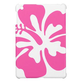 Pink Hibiscus Flower iPad Mini Cover