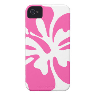 Pink Hibiscus Flower iPhone 4 Case