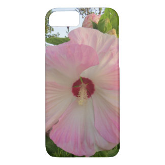 Pink Hibiscus Flower iPhone 7 Case