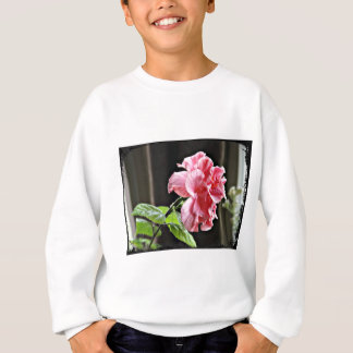 Pink Hibiscus Flower Sweatshirt