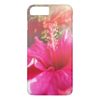 Pink hibiscus iPhone8 casing iPhone 8 Plus/7 Plus Case