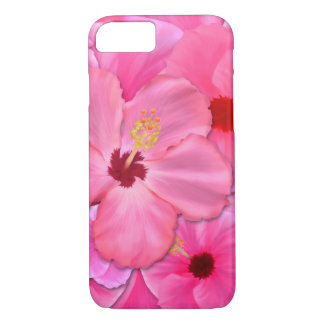 Pink Hibiscus iPhone 8/7 Case