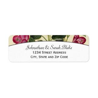 Pink HibiscusReturn Address Labels