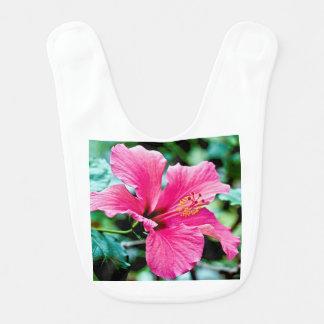 Pink Hibiskus Bib