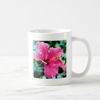 Pink Hibiskus Coffee Mug
