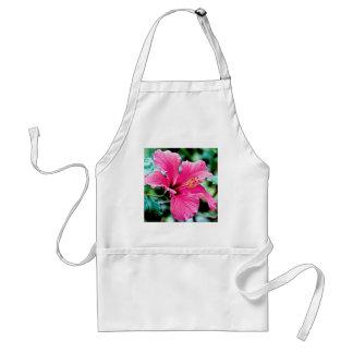 Pink Hibiskus Standard Apron