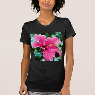 Pink Hibiskus T-Shirt