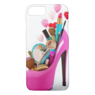 Pink High Heel & Cosemetic iPhone 8/7 Case