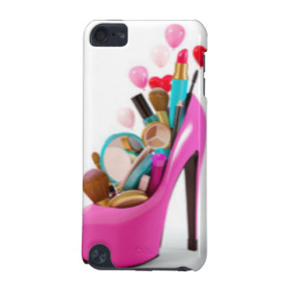 Pink High Heel & Cosemetic iPod Touch 5G Cases
