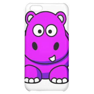Pink Hippo Case iPhone 5C Cases