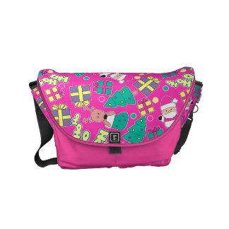 Pink - Ho Ho Santa Commuter Bag