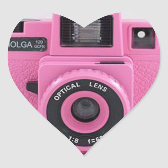 Pink Holga Sticker