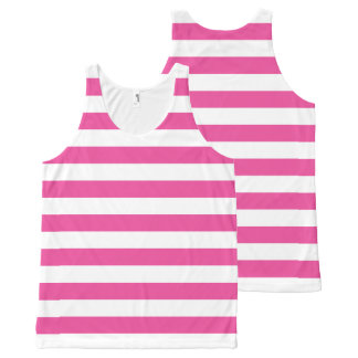Pink Horizontal Stripes
