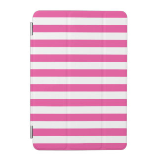 Pink Horizontal Stripes iPad Mini Cover