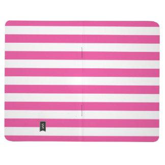 Pink Horizontal Stripes Journal