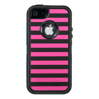 Pink Horizontal Stripes OtterBox iPhone 5/5s/SE Case