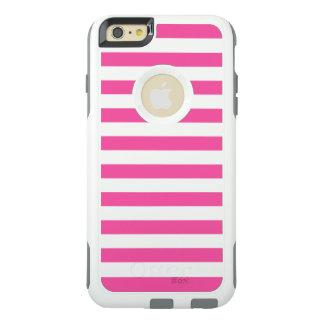 Pink Horizontal Stripes OtterBox iPhone 6/6s Plus Case