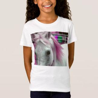 Pink Horse Girls T Shirt