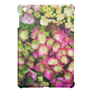 Pink Hortensia Cover For The iPad Mini