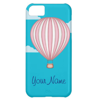 Pink Hot Air Baloon Case For iPhone 5C