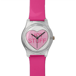 Pink Hot Stuff Candy Heart Valentine's Day Watch