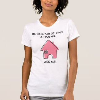 Pink House customizable ladies Realtor T-Shirt