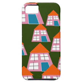 Pink Houses iPhone 5 Cases