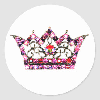 Pink Hues of a Tiara stickers