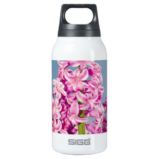Pink Hyacinth Insulated Water Bottle